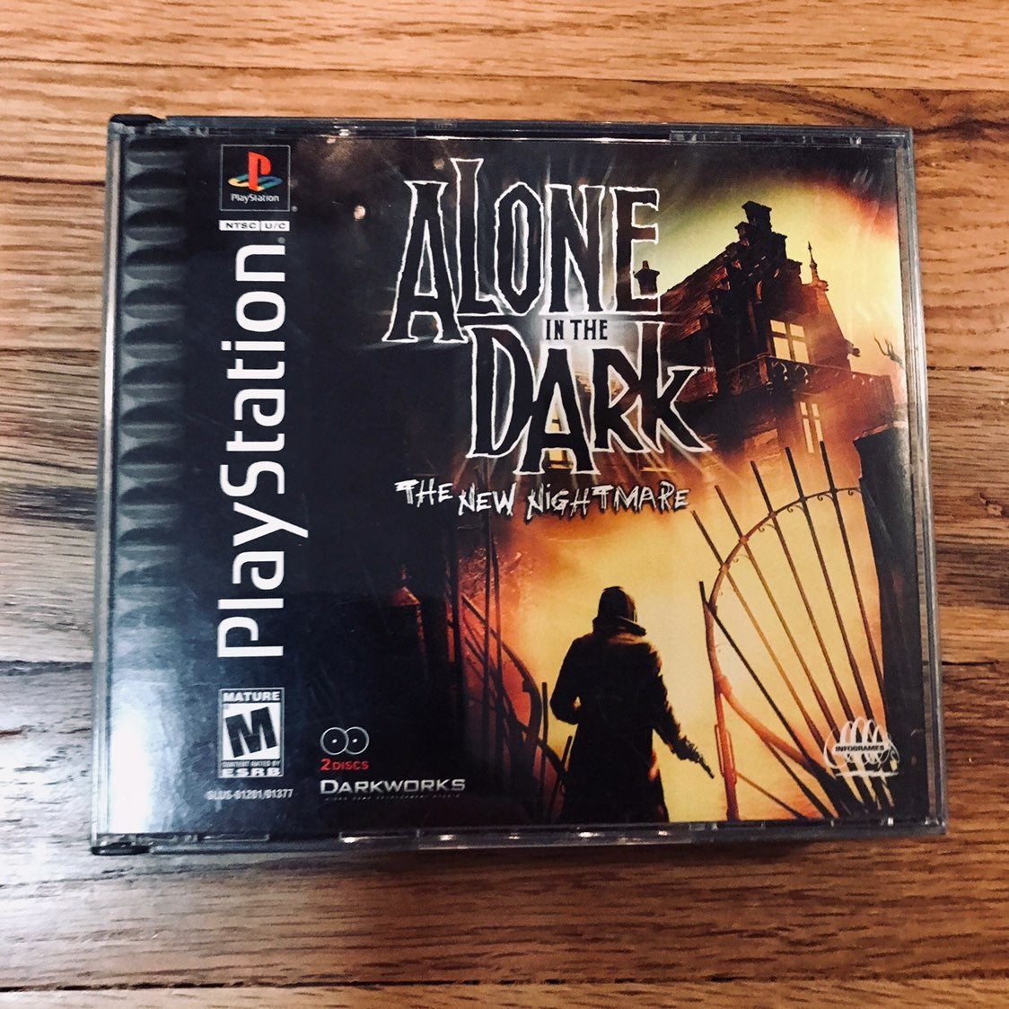 Alone in the Dark: New Nightmare for PS1
