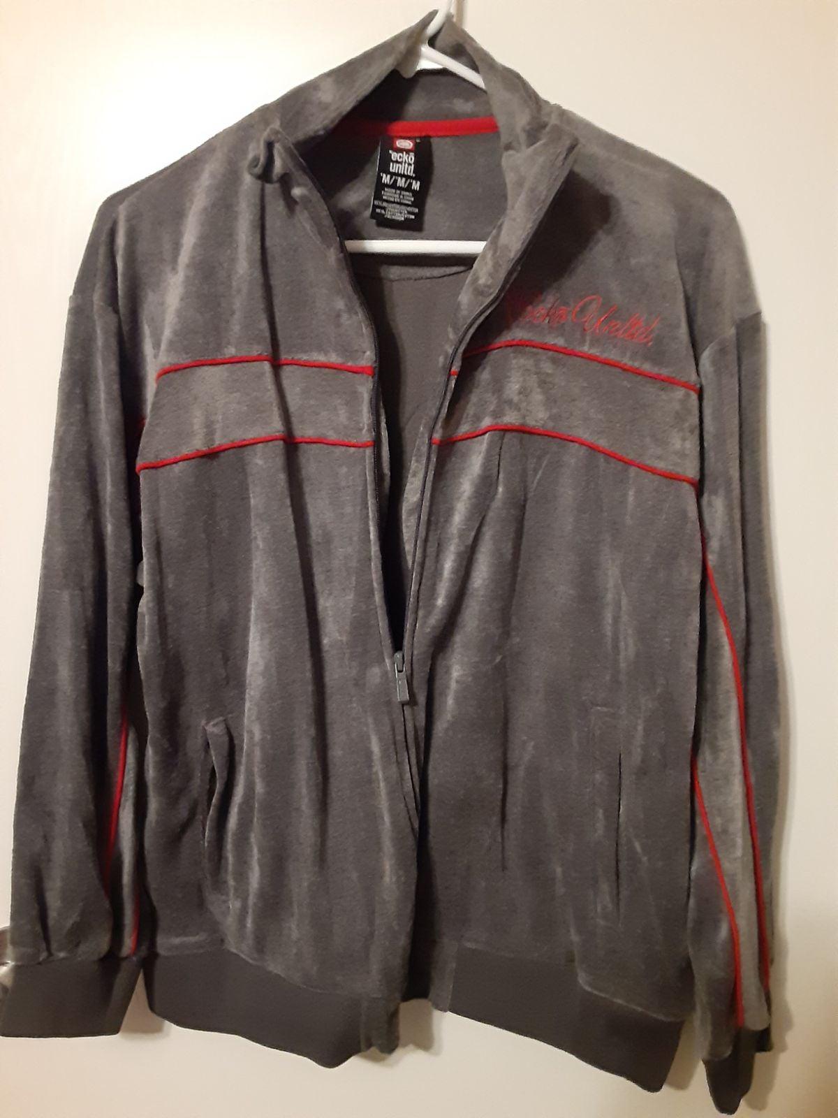 Ecko Unlimited track jacket.