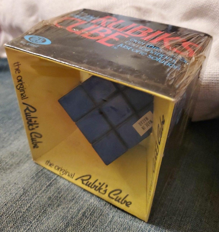 Vintage 1980 Rubik's cube