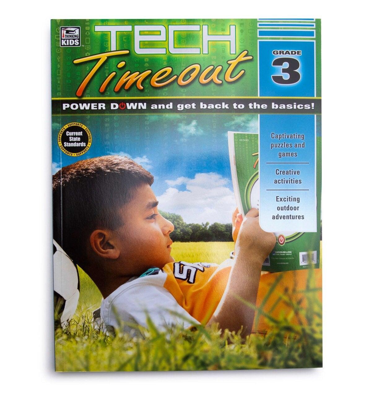 Tech Timeout Book Grade 3 Brand New