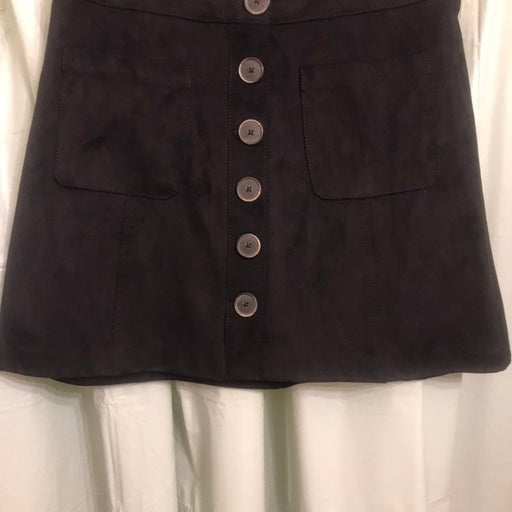 ZARA A-line Mini Skirt