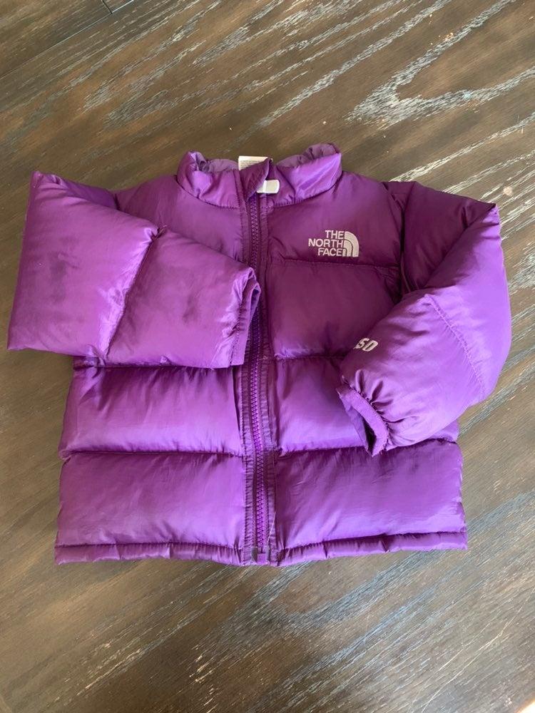 Baby girl Northface coat