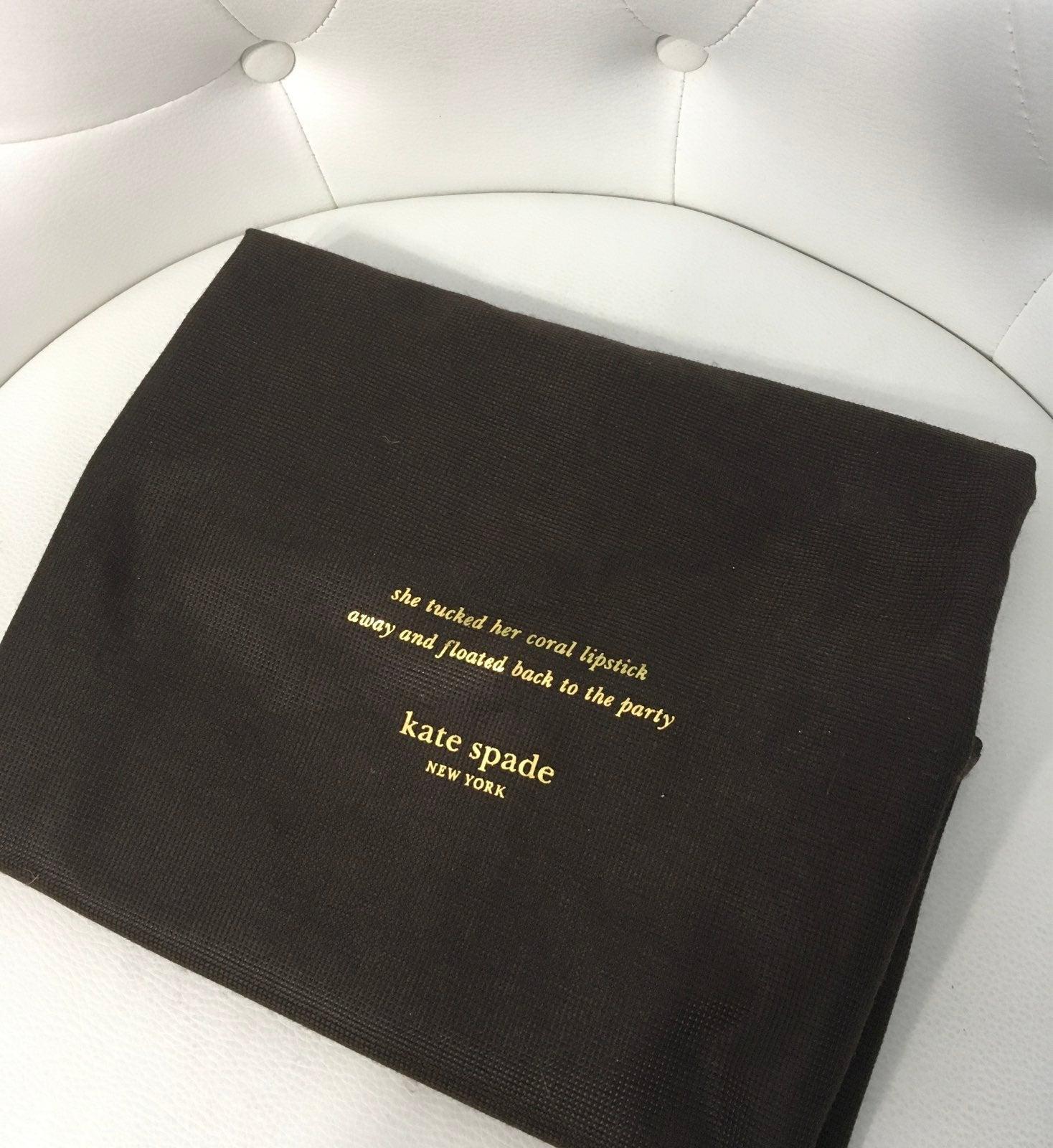 Kate Spade Large Dust Bag drawstring