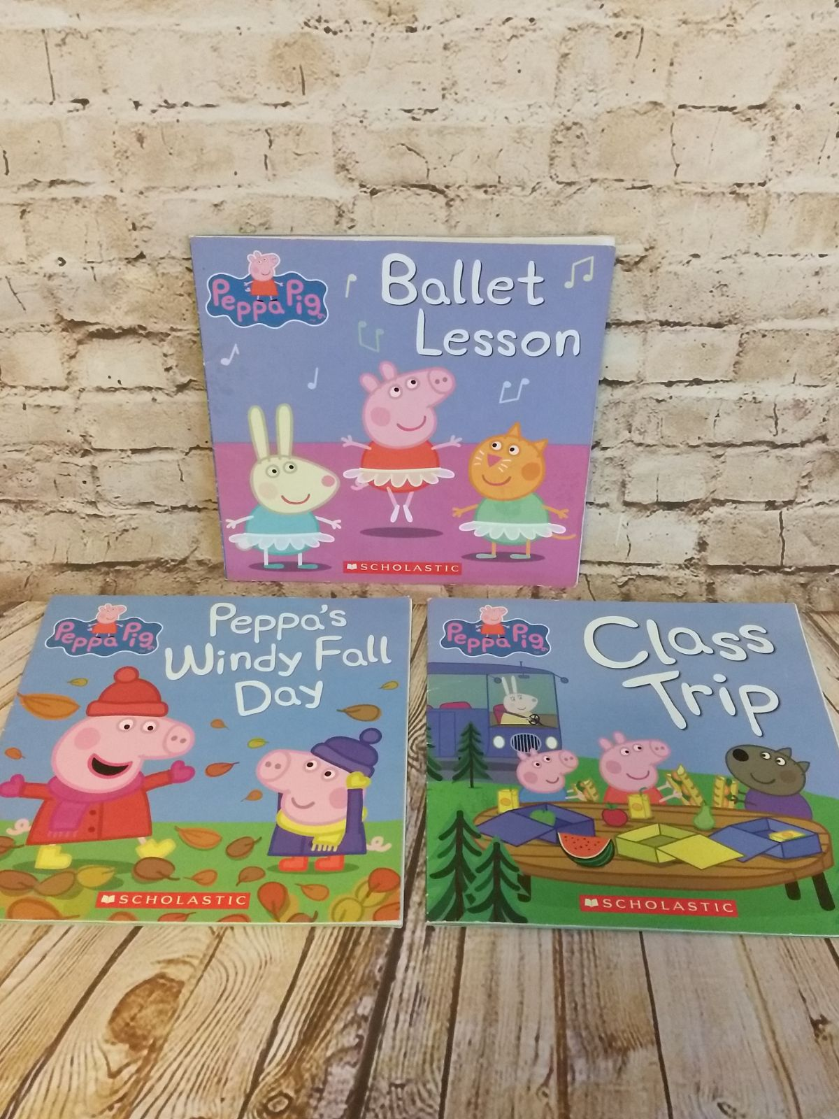 Peppa Pig Children's Books Lot