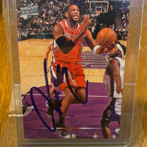 Tracy McGrady Autographed Card