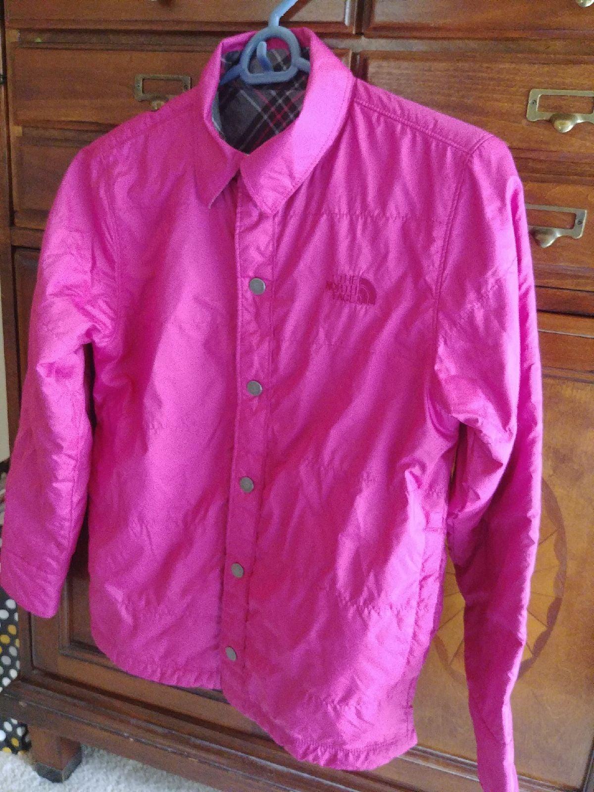 NWOT North Face Pink Spring Jacket GIRLS