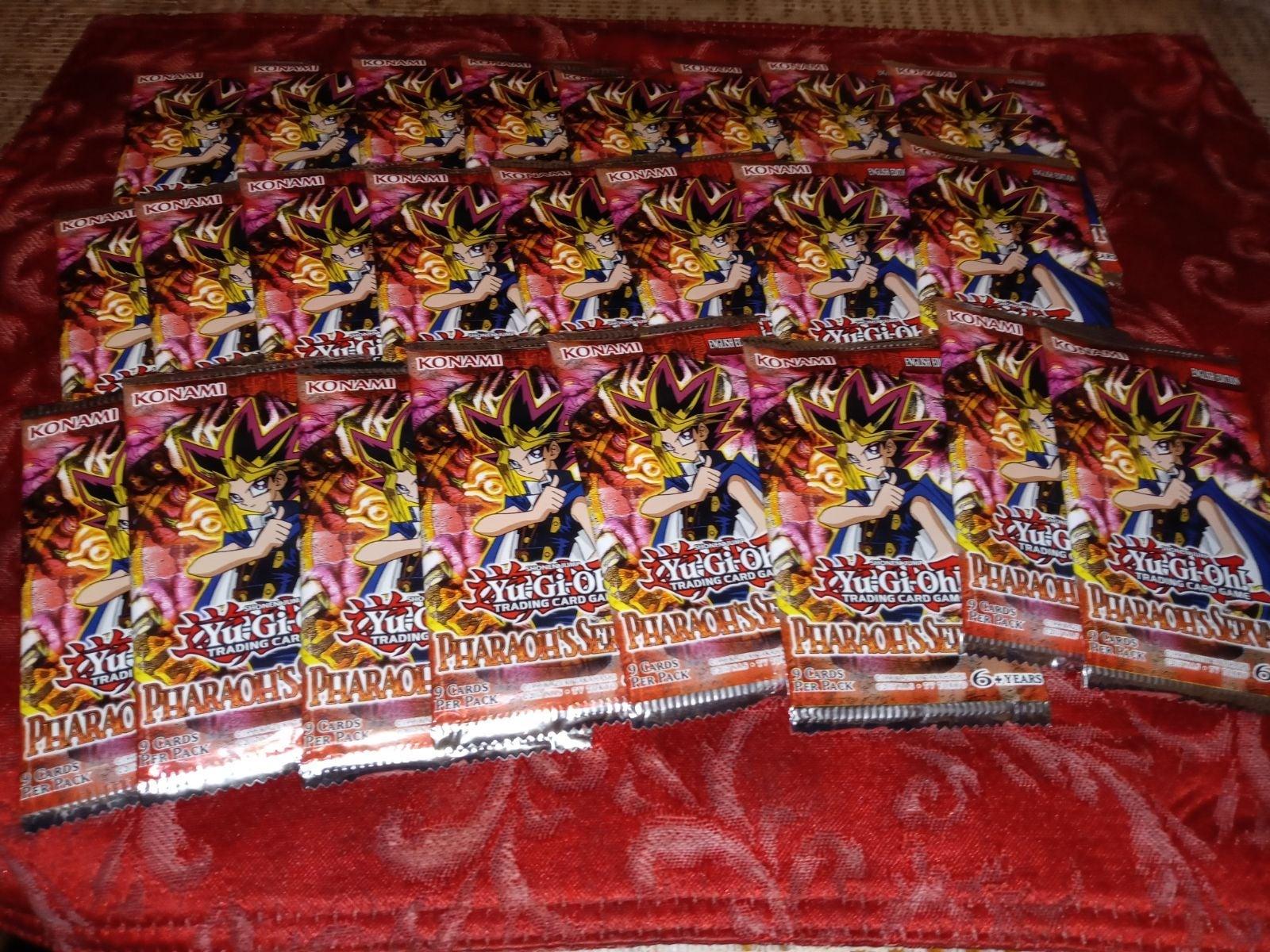 Yugioh 24 pack lot