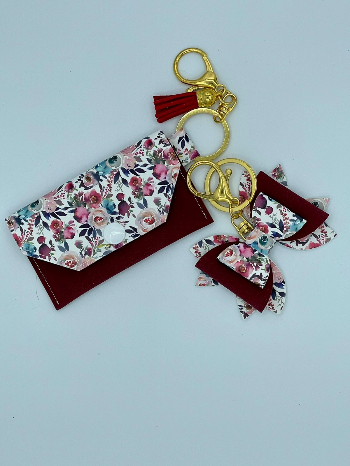 Floral Charms Duo bow and card holder