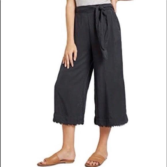 Bella Dahl Belter High Waist Frayed Pant