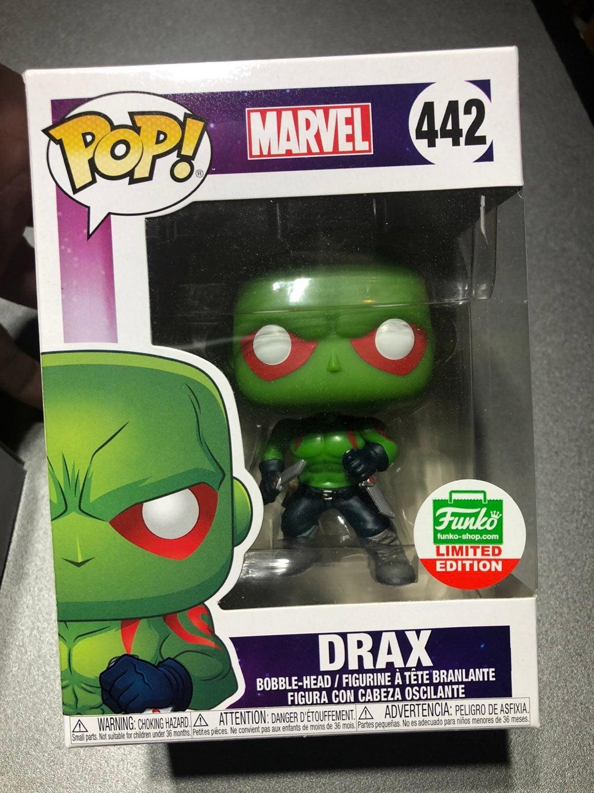Funko Drax Pop limited edition