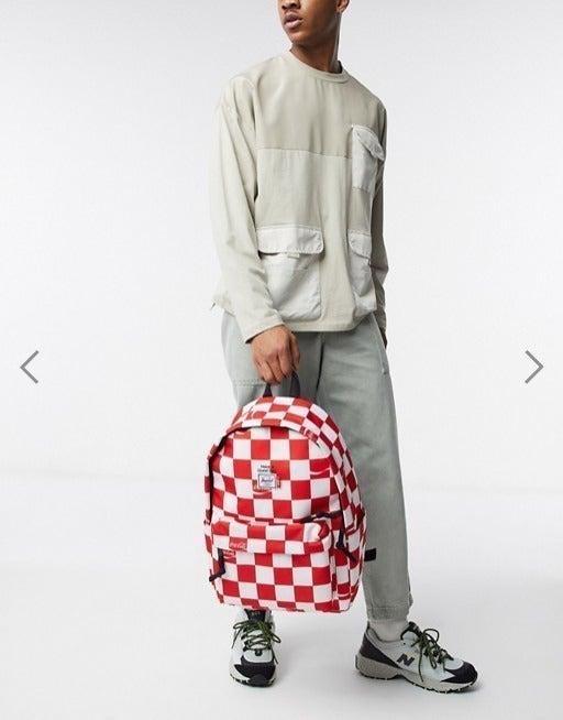 Herschel Backpack Mid Coca Cola Rare!