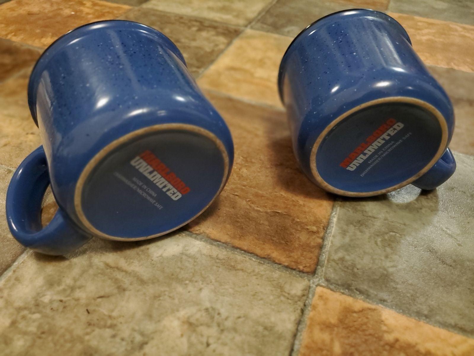 Vintage Marlboro Unlimited coffee cups