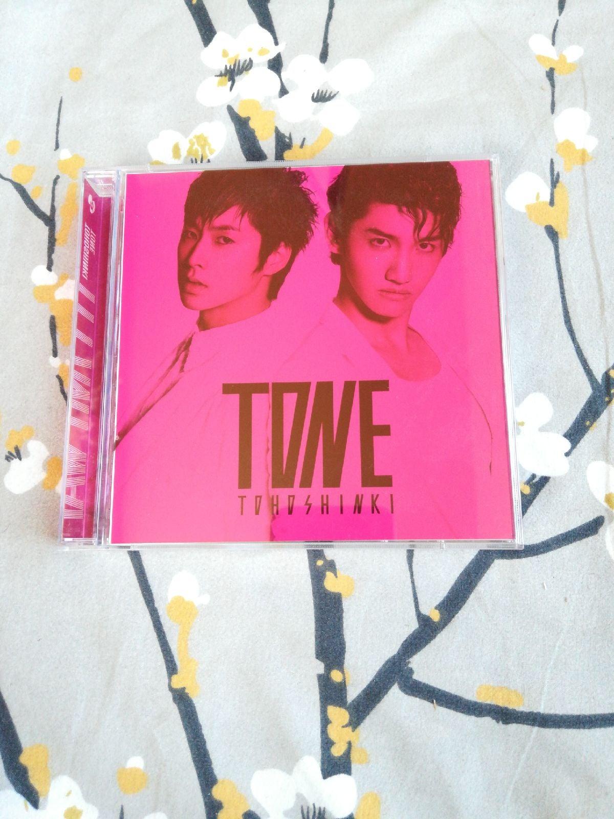 TVXQ tohoshinki Tone Japan cd dvd