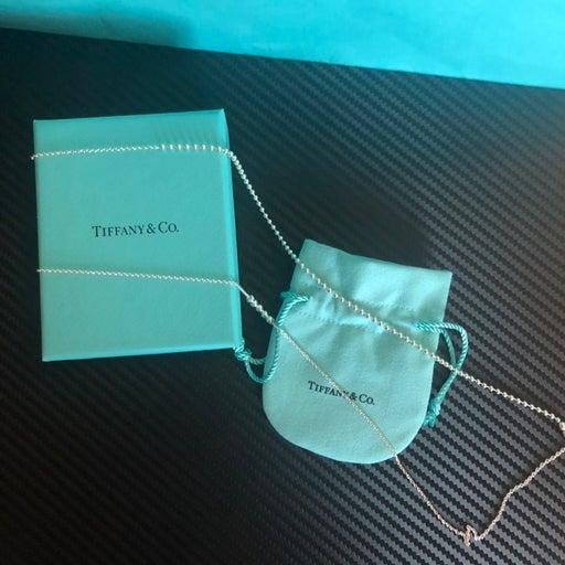 """New Tiffany&Co mixed bead chain 28-30"""""""