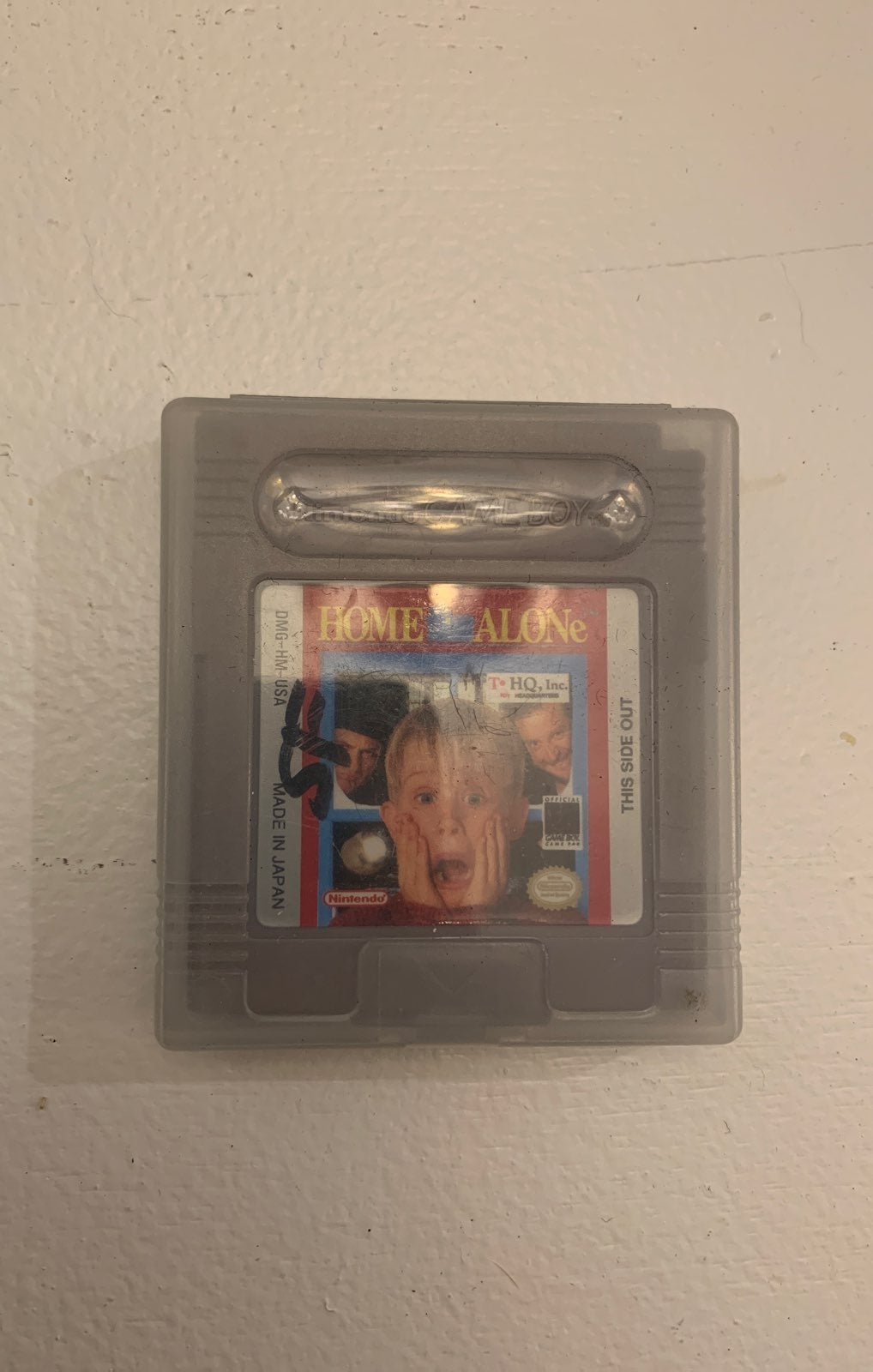 Home Alone Gameboy game
