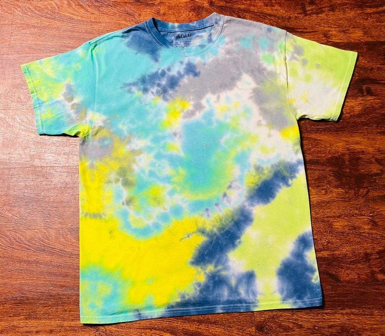 Custom Tie Dye Shirt size L unisex