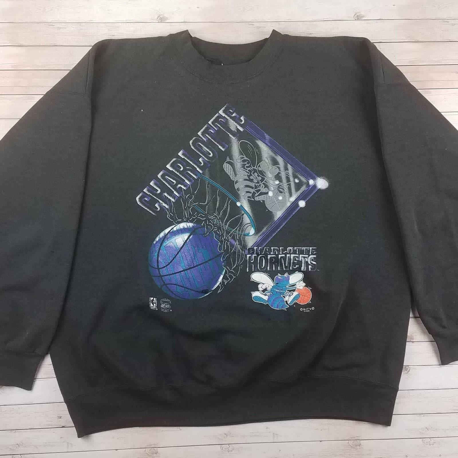 VTG 90s Charlotte Hornet MJTs Sweatshirt
