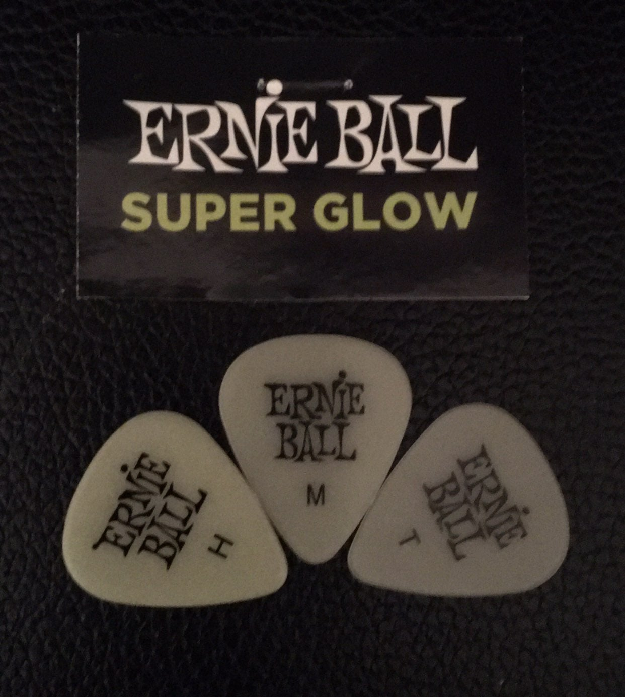 Sample set of Ernie Ball guitar picks