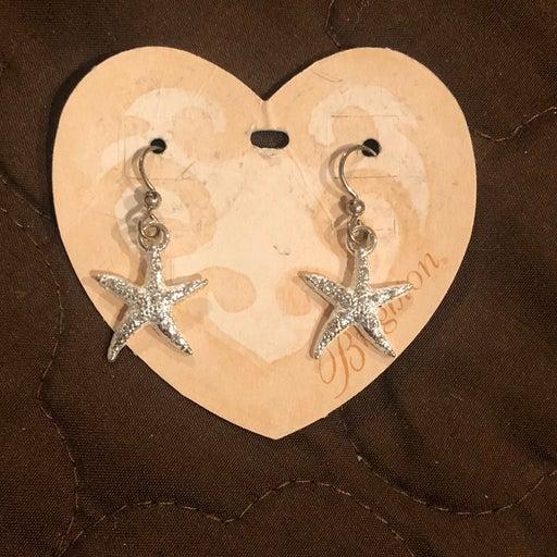 Brighton Caribbean Starfish Earrings