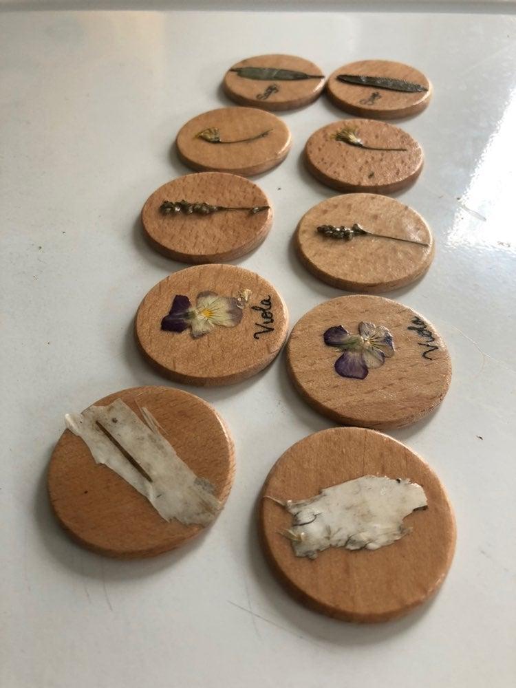 Handmade Botanical Memory game