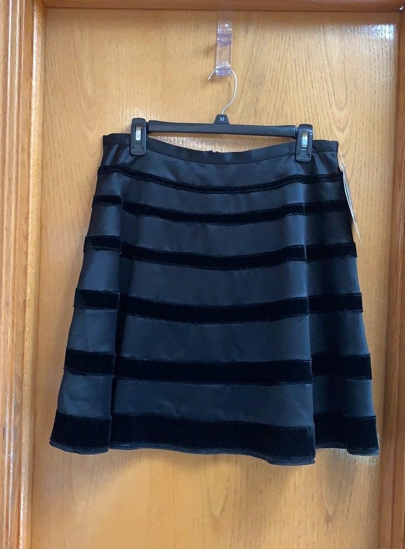 Satin and Velvet Behnaz Sarafpour Skirt