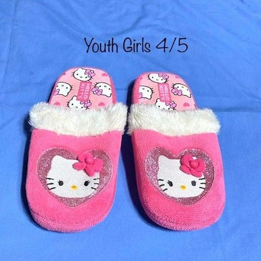 Girls 4/5 Hello Kitty Slippers