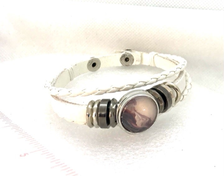 Snap bracelet 20mm  handmade snap Sb20