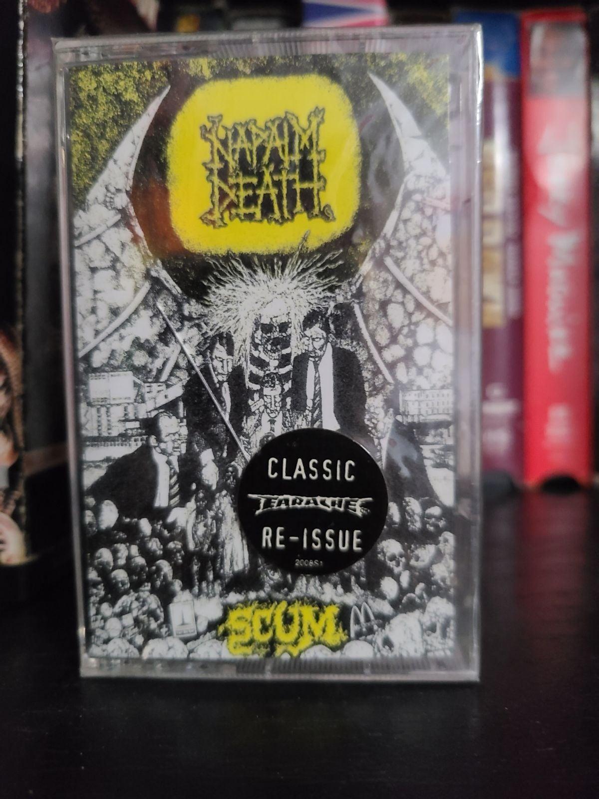 Napalm Death Scum Cassette