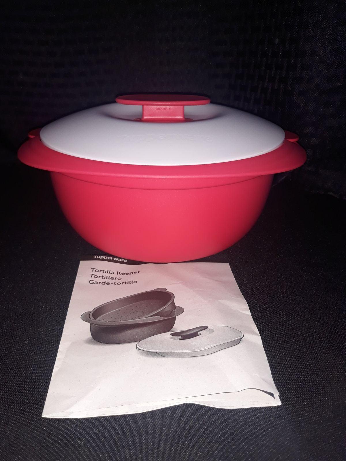 Tupperware Tortilla Keeper