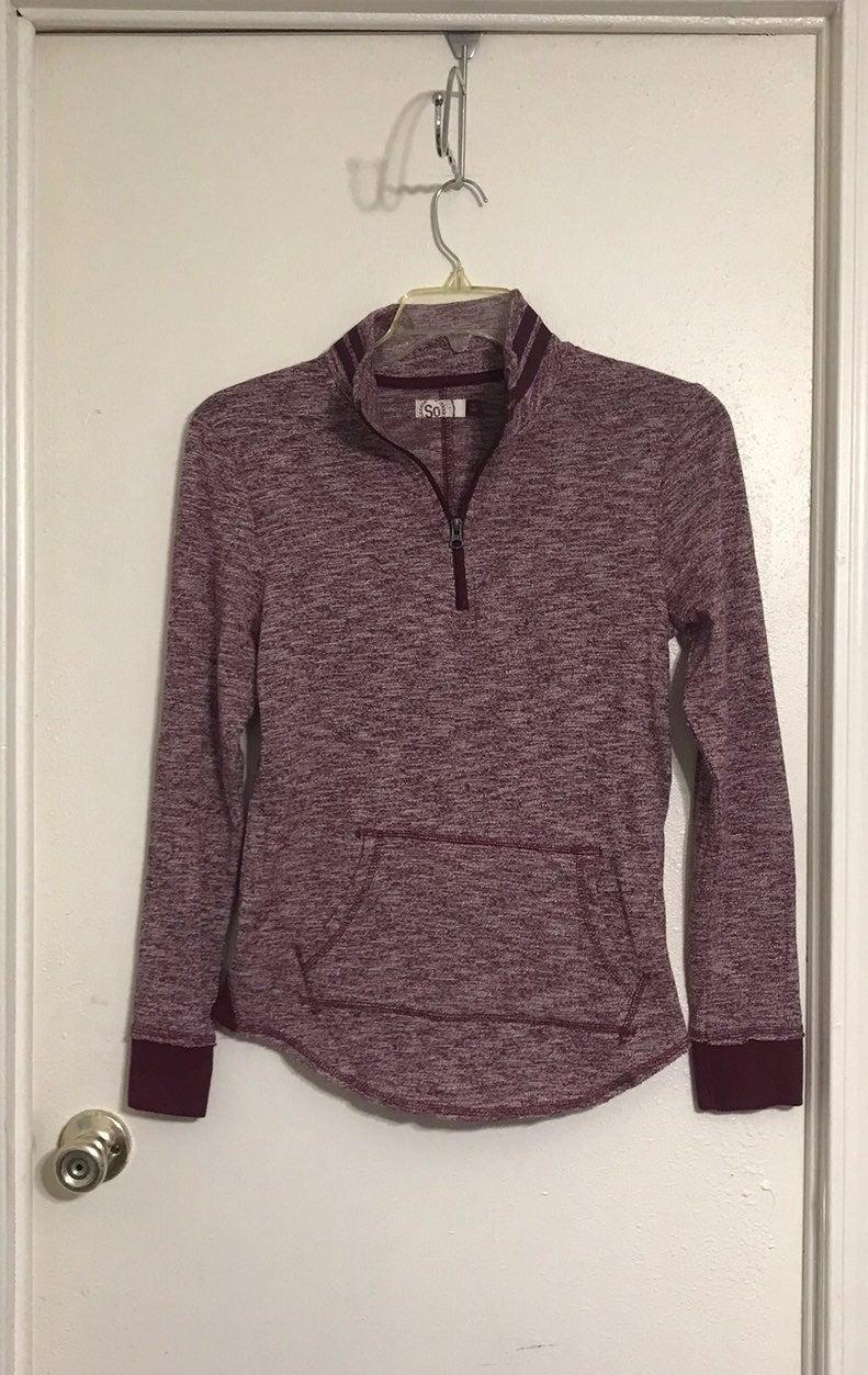 SO 1/4 zip lightweight pullover