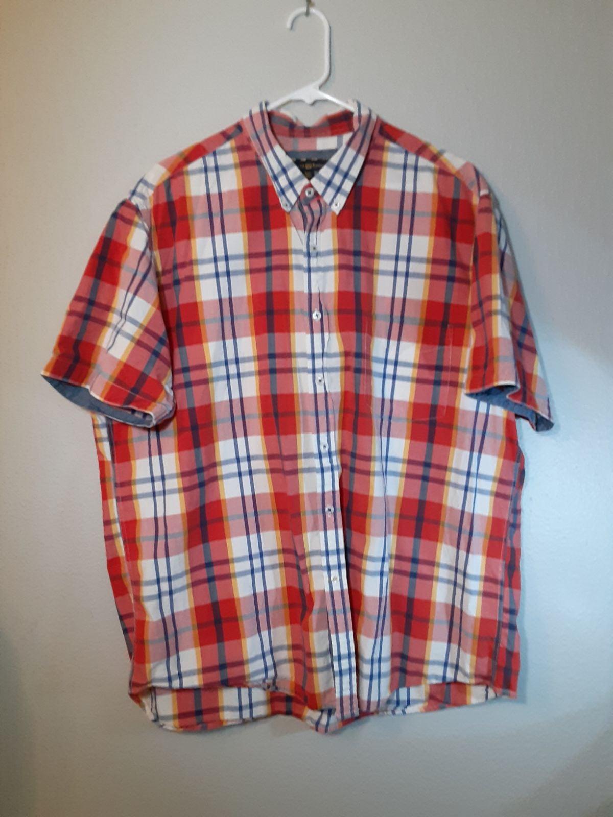 Club Room Short-Sleeve Collared Shirt
