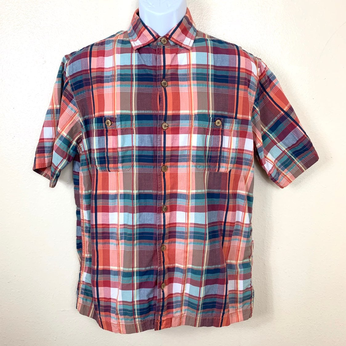 Caribbean Men's Shirt plaid multicolored