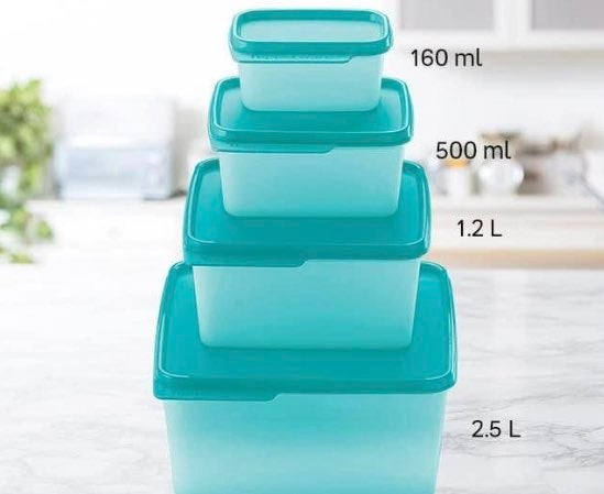 Tupperware Basic Line Containers 4 -PC