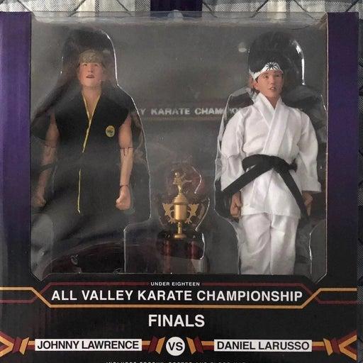 The Karate Kid Johnny vs Daniel NECA fig