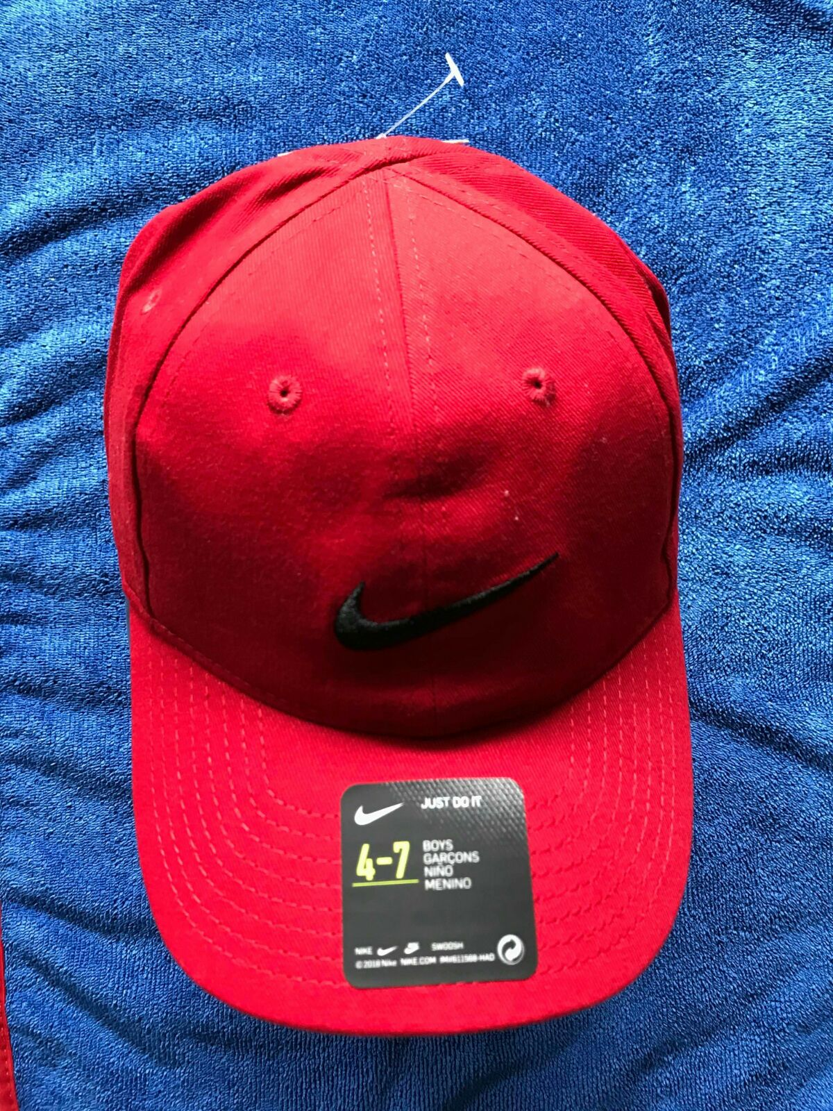 Red Nike Hat for boys