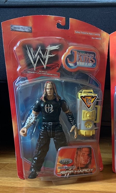WWF Signature Jams Jeff Hardy