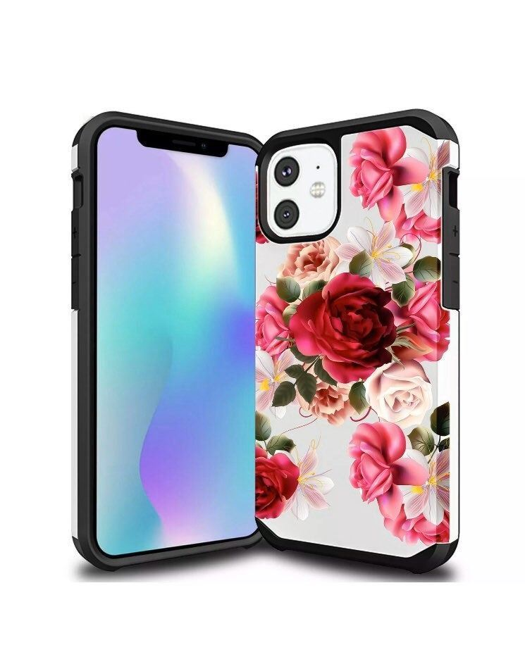 New floral iphone case (CHOOSE WHICH)