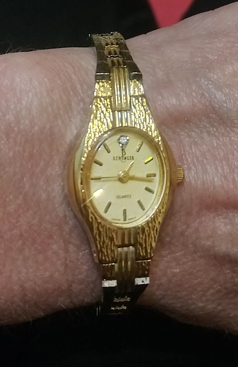 Berenger goldtone watch