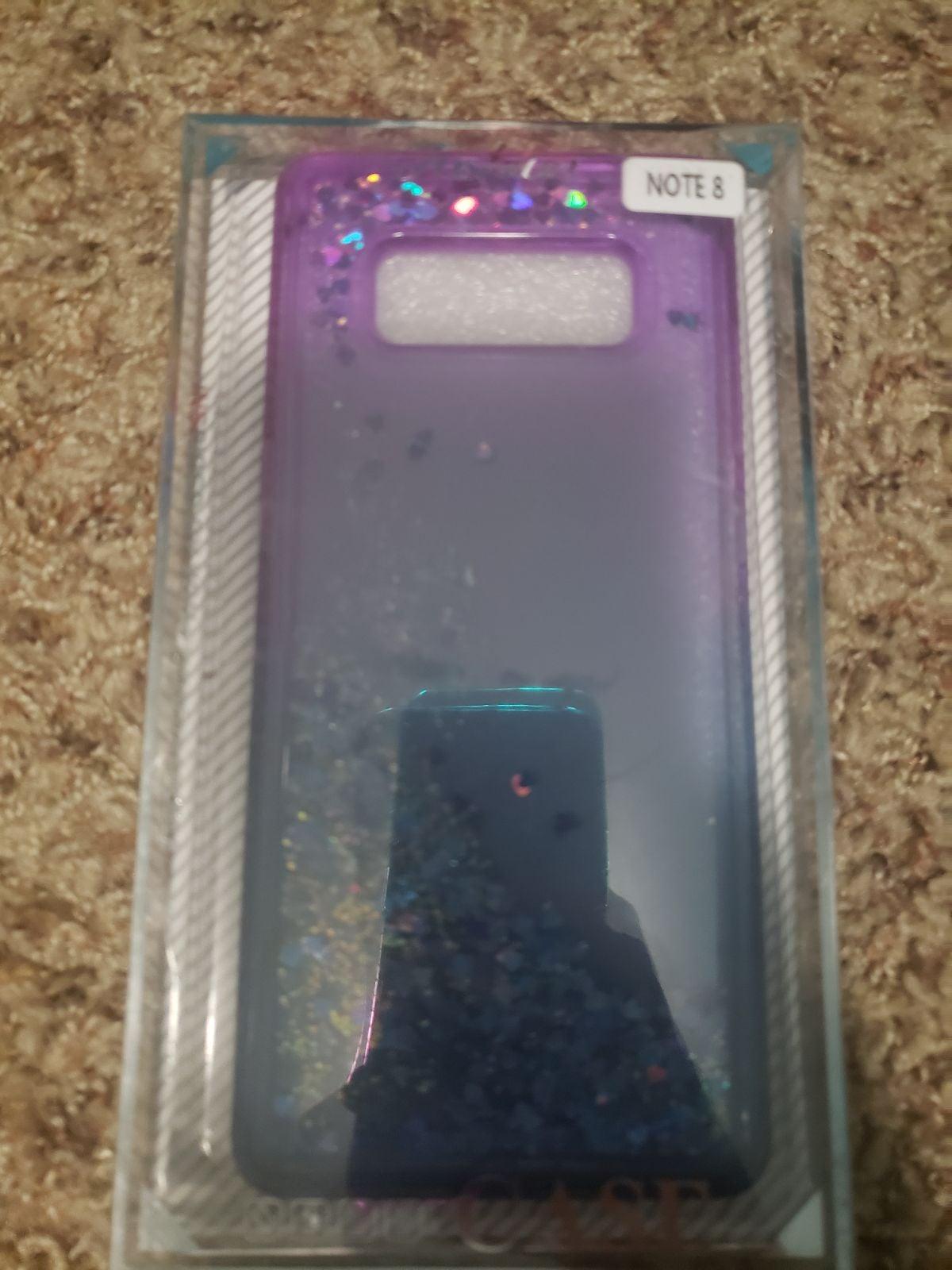 Samsung galaxy note 8 glitter case