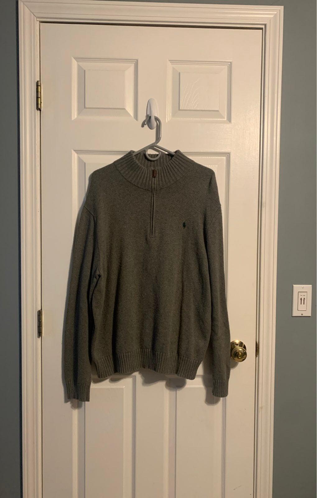Polo Ralph Lauren Sweater Mens Large Gre