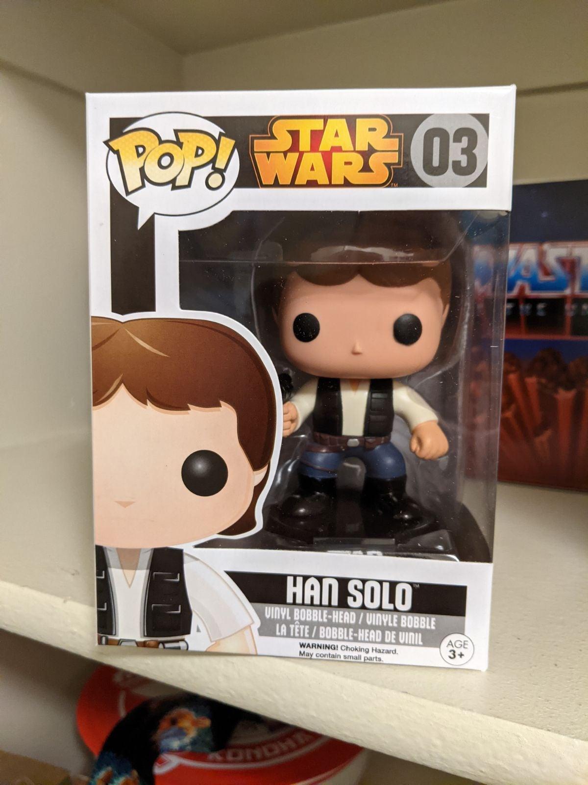 Han Solo 03 Funko Pop Star Wars
