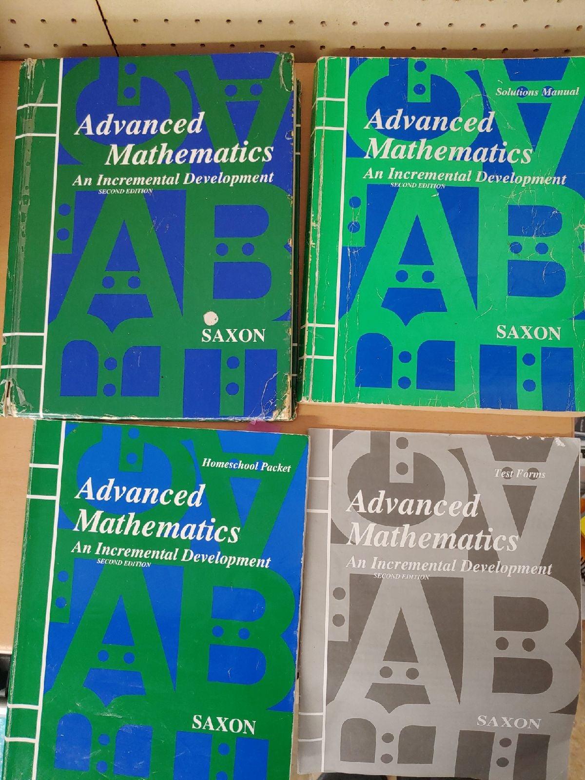 Saxon Advanced mathematics