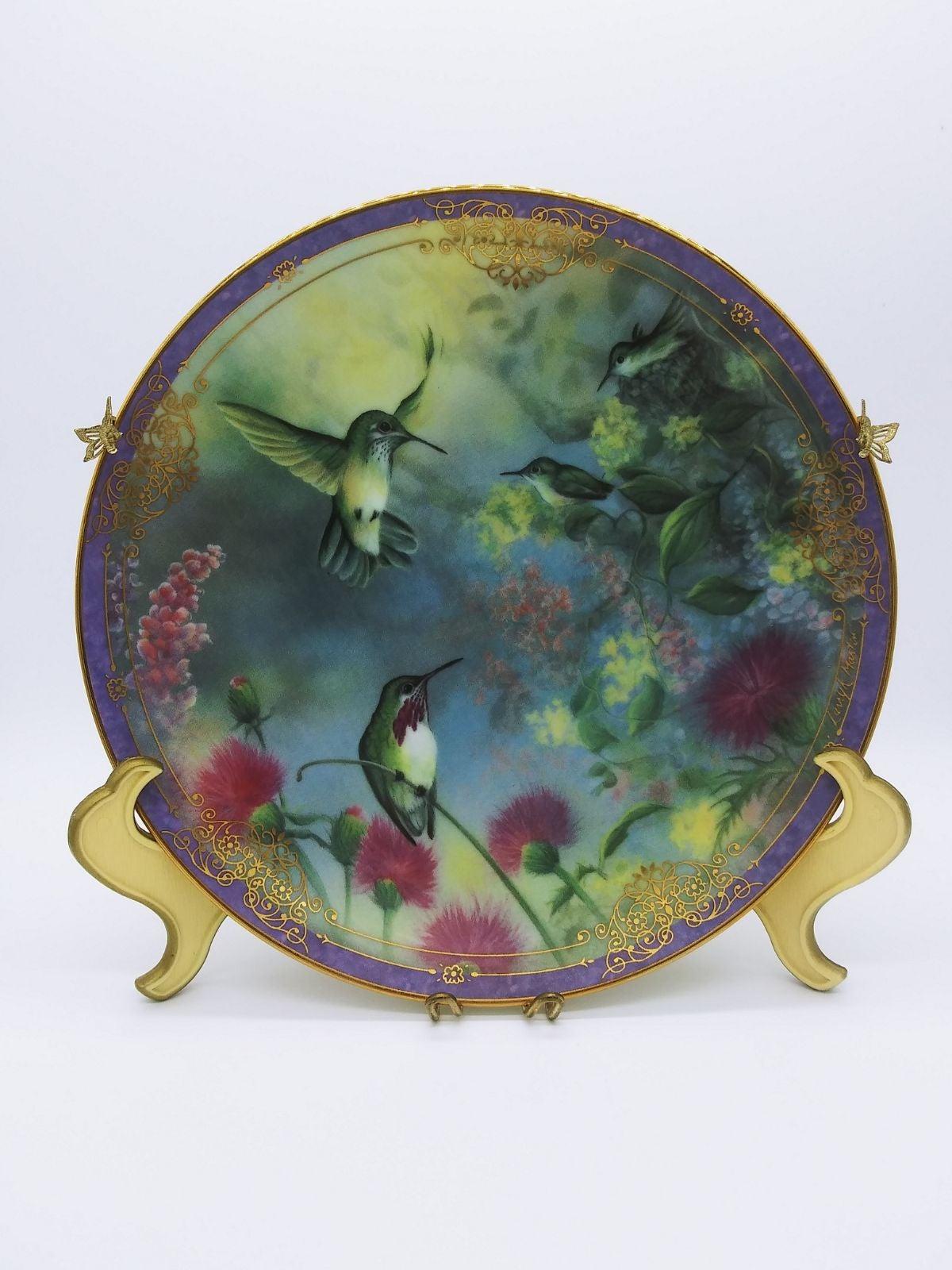 Natures Little Treasures Bird Plate