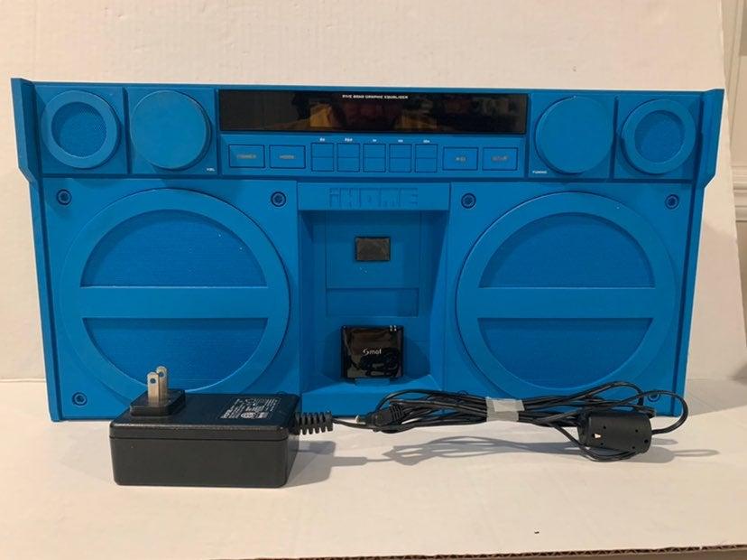 IHome iP4 Ipod Ghetto Blaster Boombox