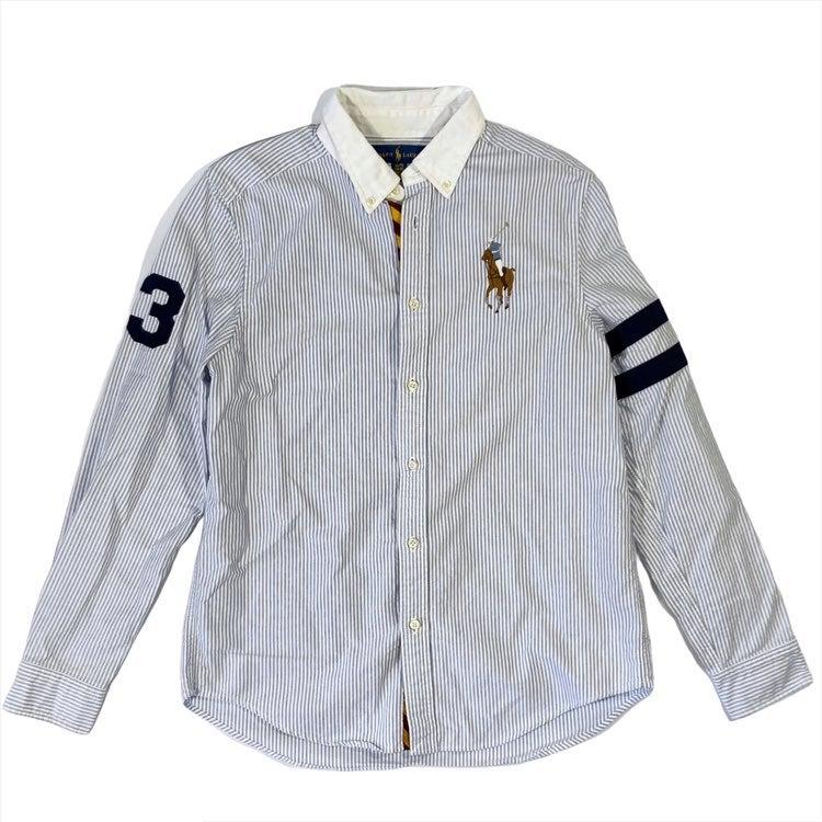 Ralph Lauren Boy's XL Pony Oxford Shirt