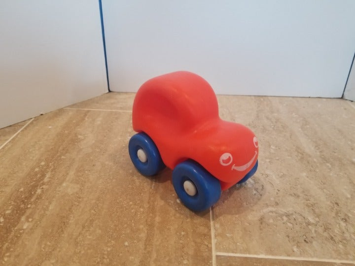 Vtg Little Tikes Toy Push and Hold 80s