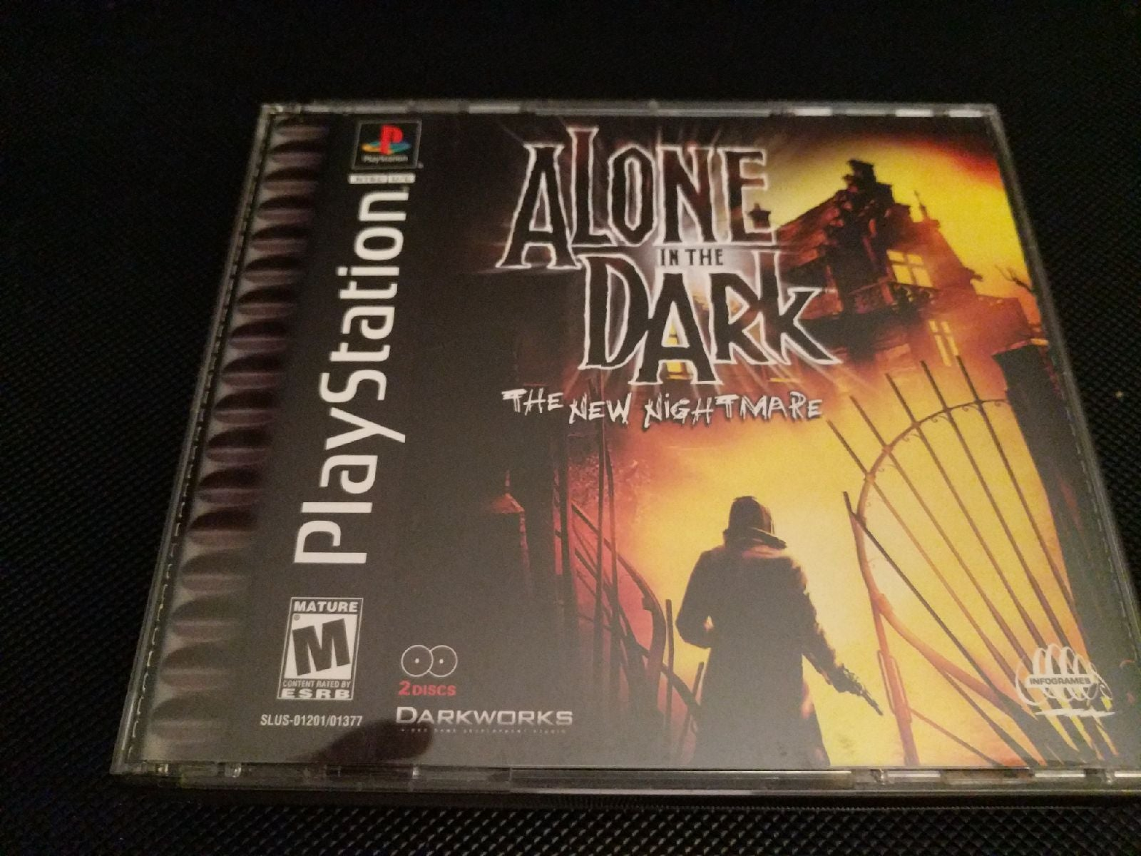 PS1 Game Alone in the Dark The New Night