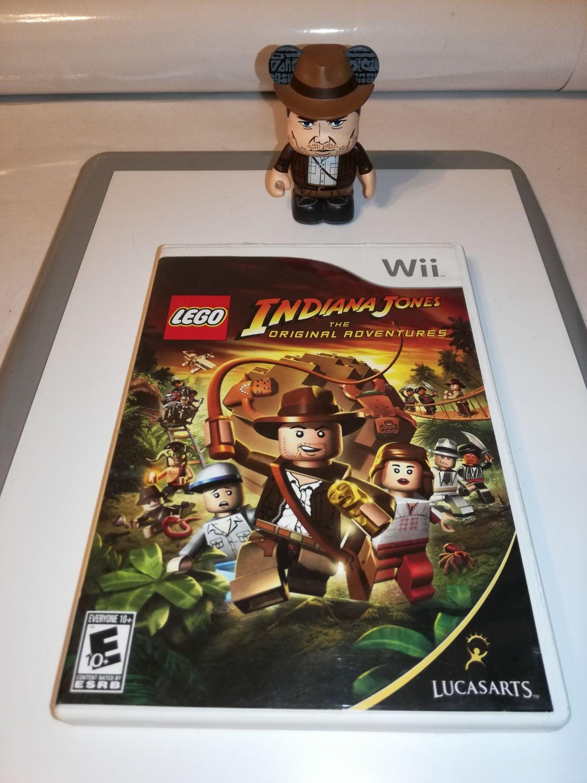 Wii Lego Indiana Jones + vinylmation ind