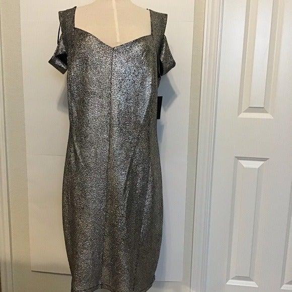 Enfocus Evening Cold Shoulder Dress
