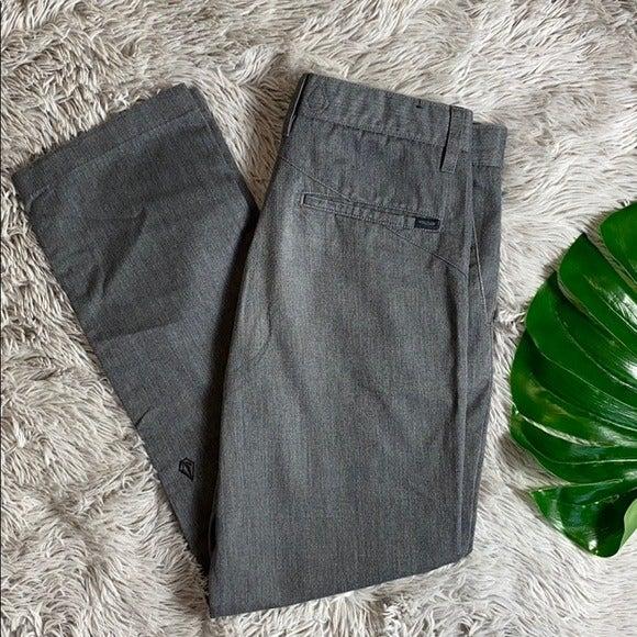 Volcom Corpo class grey pants size 30